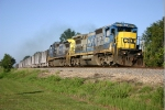 CSX 7577 and 7745 head K948 North to Florida Rock in Taft